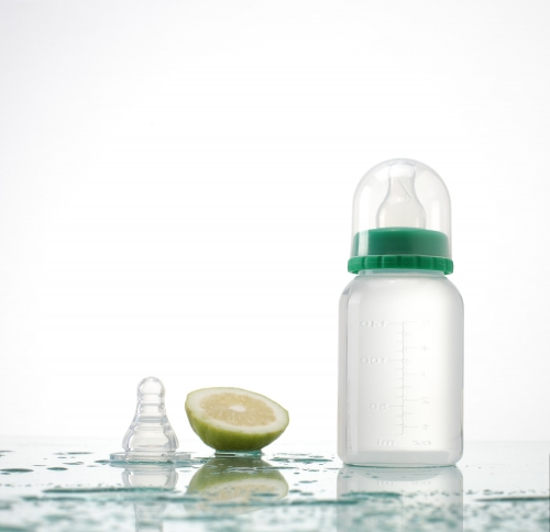 5oz/150ml bpa pp feeding bottle with scale
