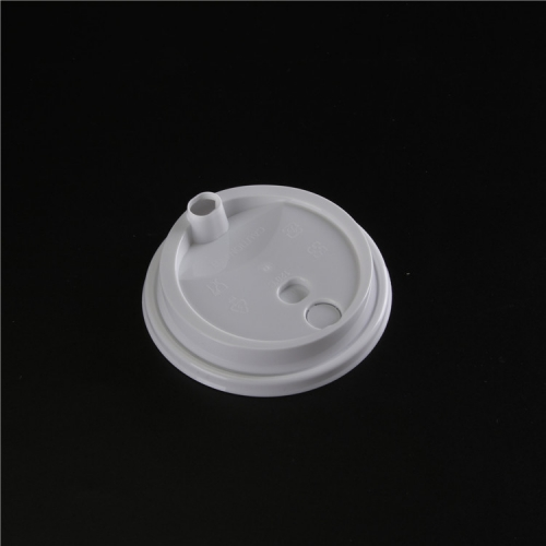 Factory direct sale customized biodegradable plastic coffee paper cup lids
