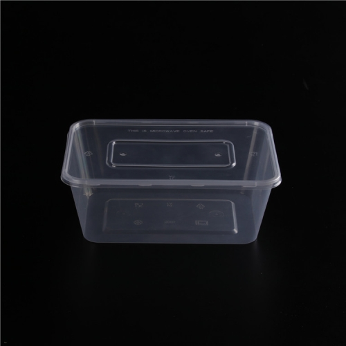 PP Material Produce Keeper Rectangular plastic Food Storage Container 500 ml