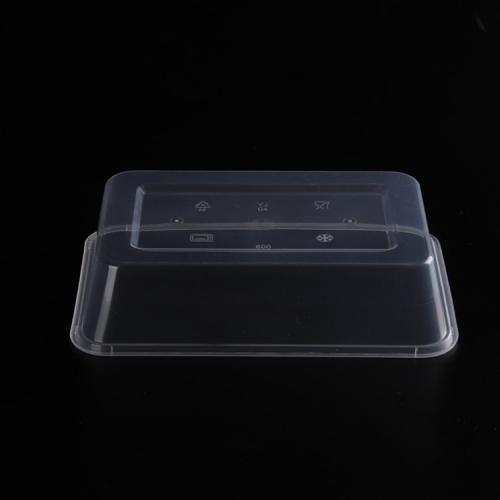 white rectangular windax food container white pp food container square